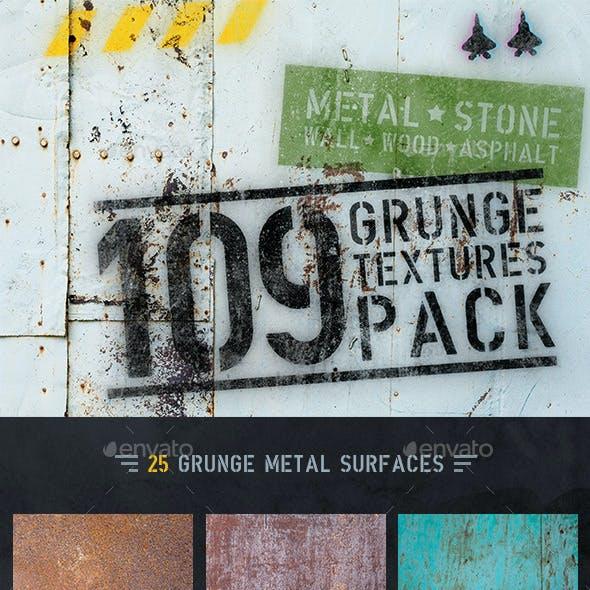 109 Grunge Background Textures Pack