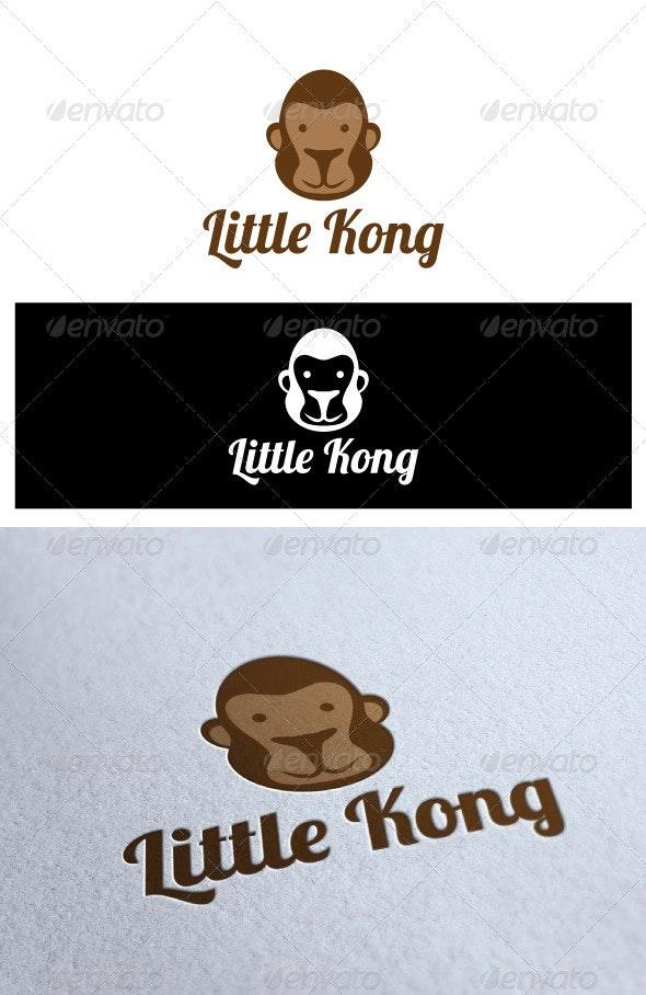 Logo Little Kong - Animals Logo Templates