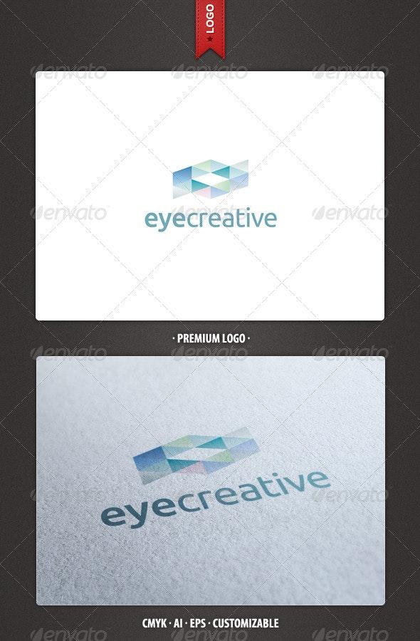 Abstract Eye Creative Logo Template - Abstract Logo Templates