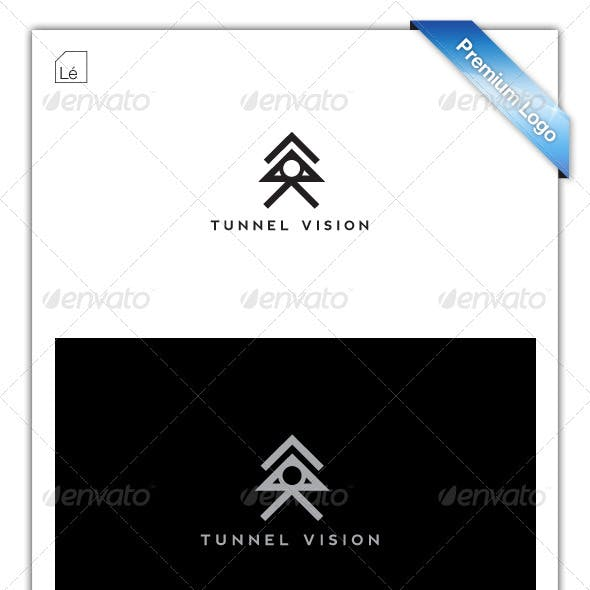 Tunnel Vision Abstract Logo