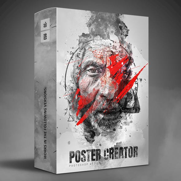 Poster Creator Photoshop Action
