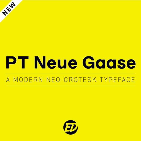 PT Neue Gaase Font