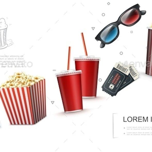 Realistic Cinema Elements Template