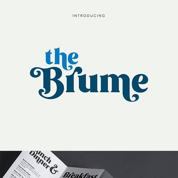 Brume - Beautiful Font