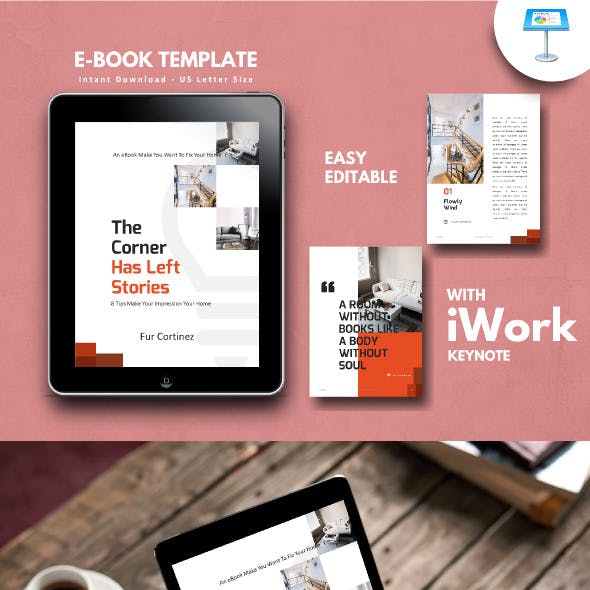 Interior eBook Template Keynote