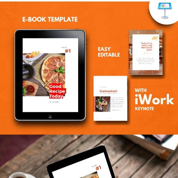 Recipe Food Book KeynoteTemplate
