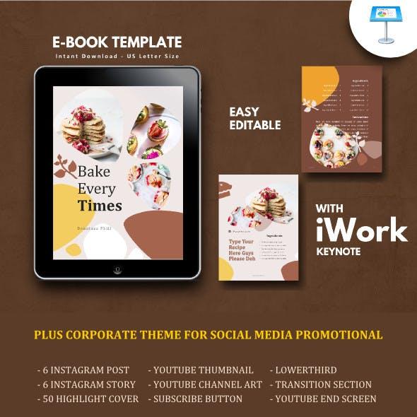 Recipe Book eBook Template Keynote