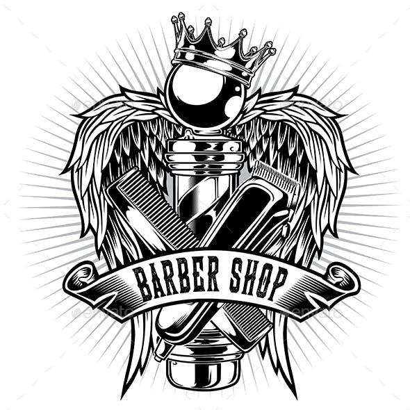 Barber Shop Hair Salon  Hair Stylist Vintage