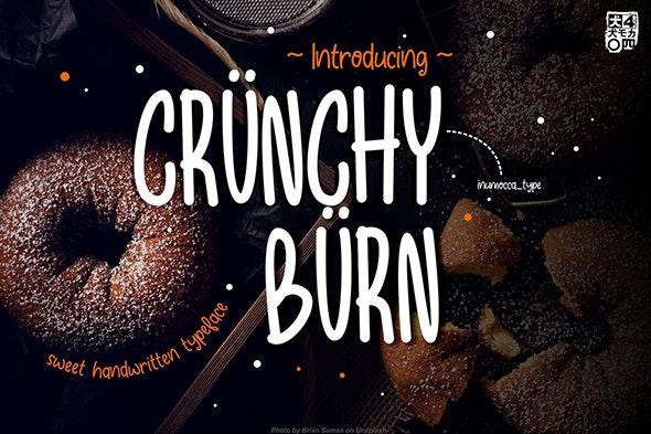 Crunchy Burn - Fancy Fonts