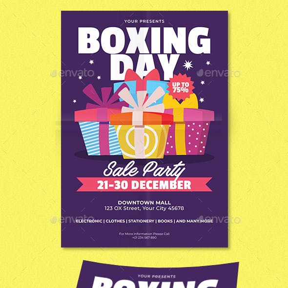 Boxing Day Sale Party