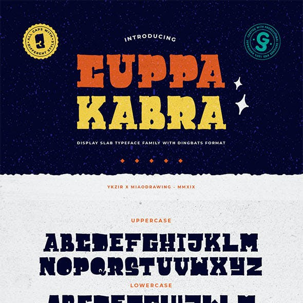 Cuppakabra Typeface