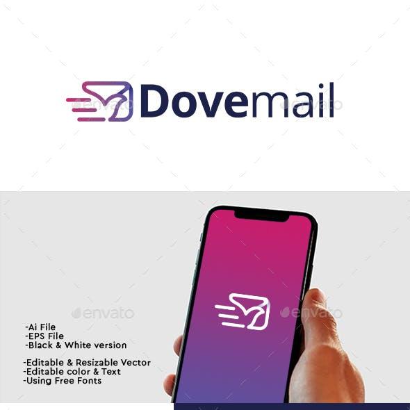 Dove Mail Logo
