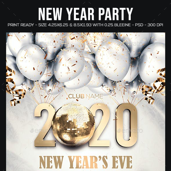 Korean New Year 2020.New Year 2020 And New Years Eve Graphics Designs Templates