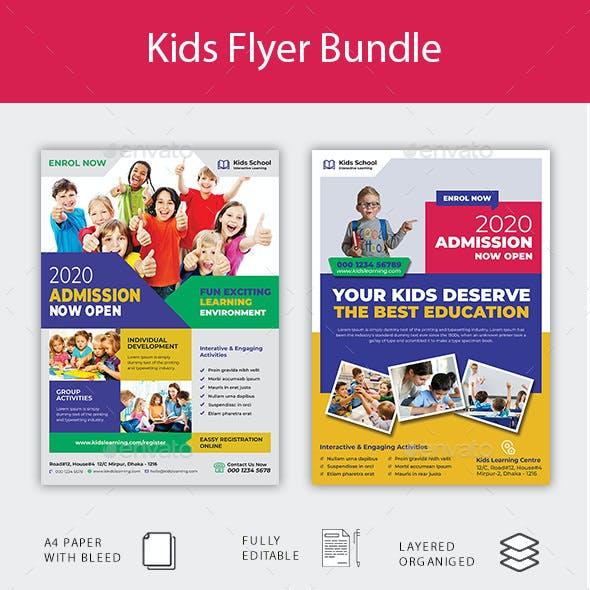 Kids Flyer Bundle