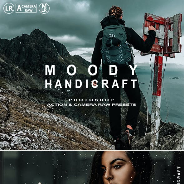 Moody Handicraft Photoshop Action