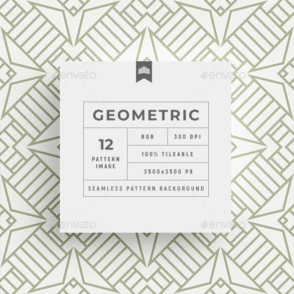 Geometric Seamless Pattern - Background
