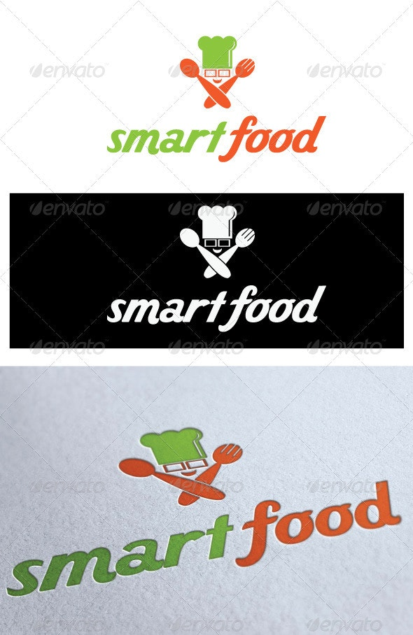 Logo Smart Food - Food Logo Templates