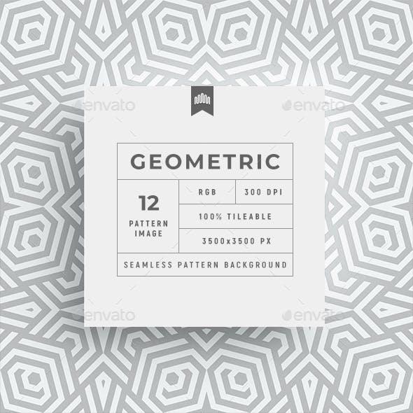 Seamless Geometric Pattern Background