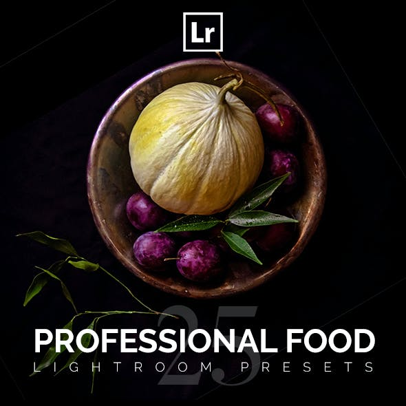 Professional Food Lightroom Presets