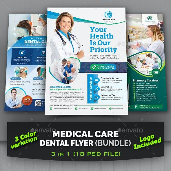 Medical/Dental Care Flyer Bundle
