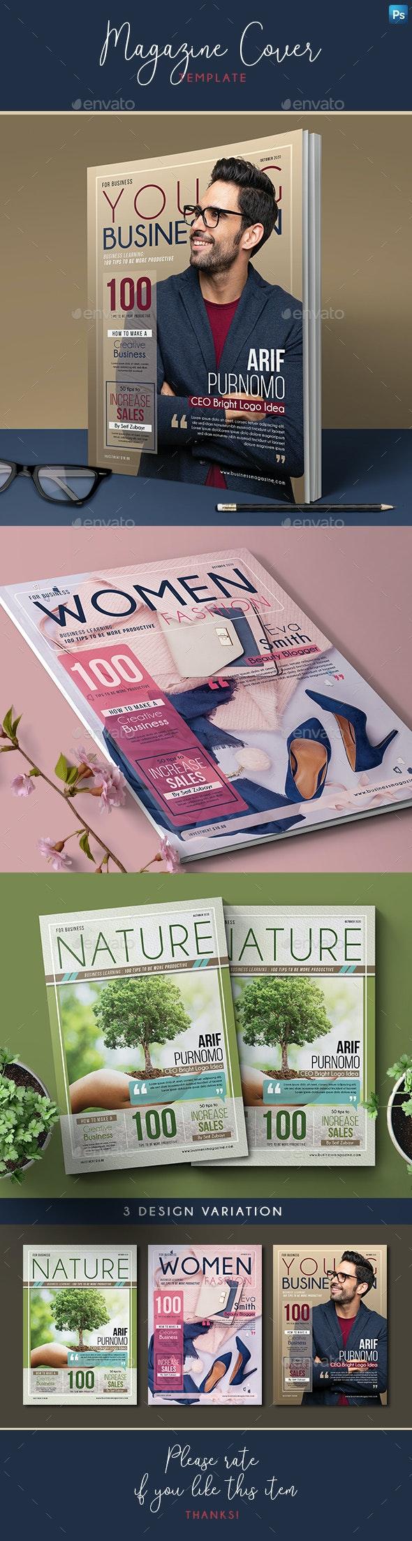 Magazine Cover - Magazines Print Templates