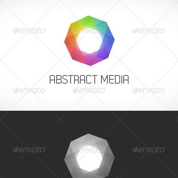 Abstract Media Logo Template