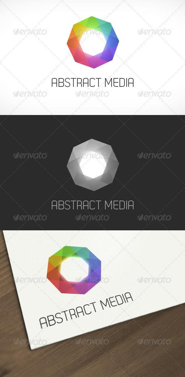Abstract Media Logo Template - Abstract Logo Templates