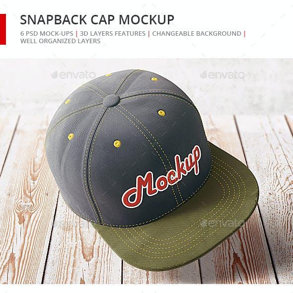Snapback Cap Mock-up