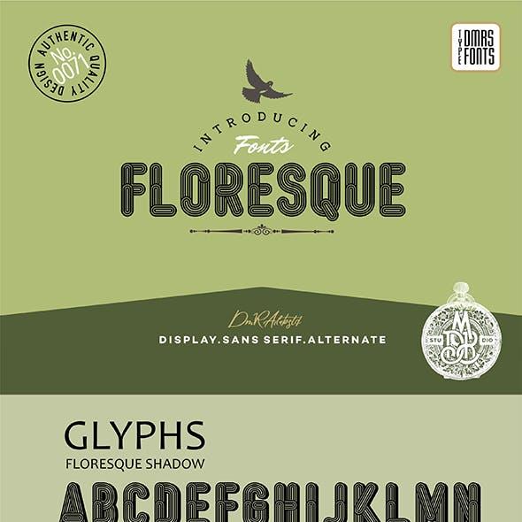 Floresque Fonts