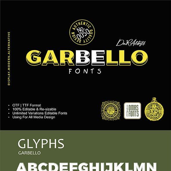 Garbello Fonts