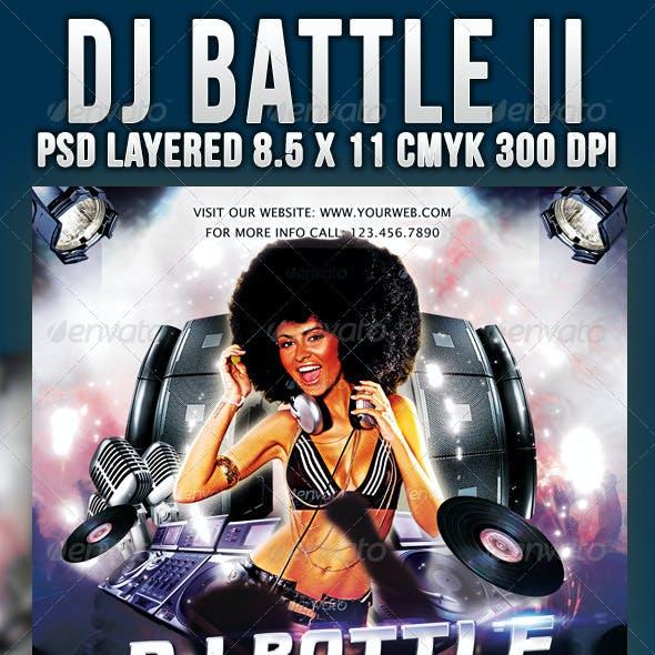 Dj Battle II