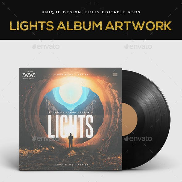Lights Music Album Cover Art