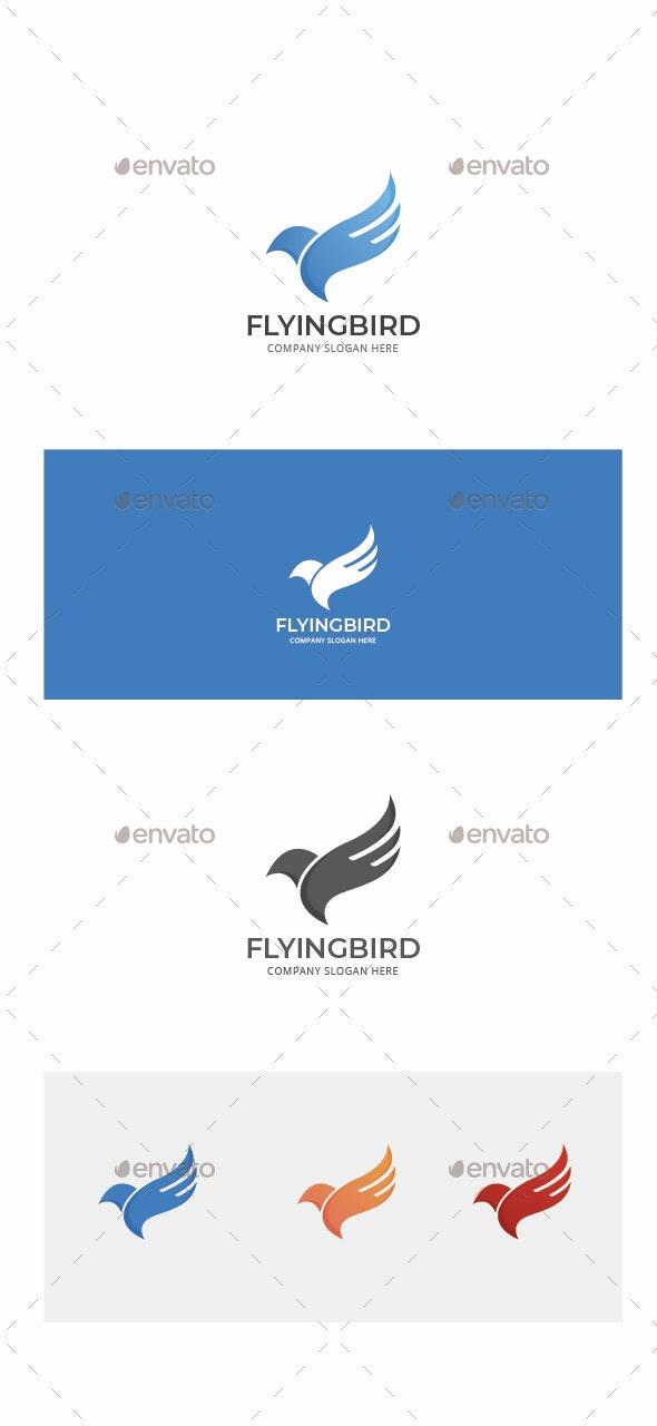 Flying Bird Logo - Animals Logo Templates