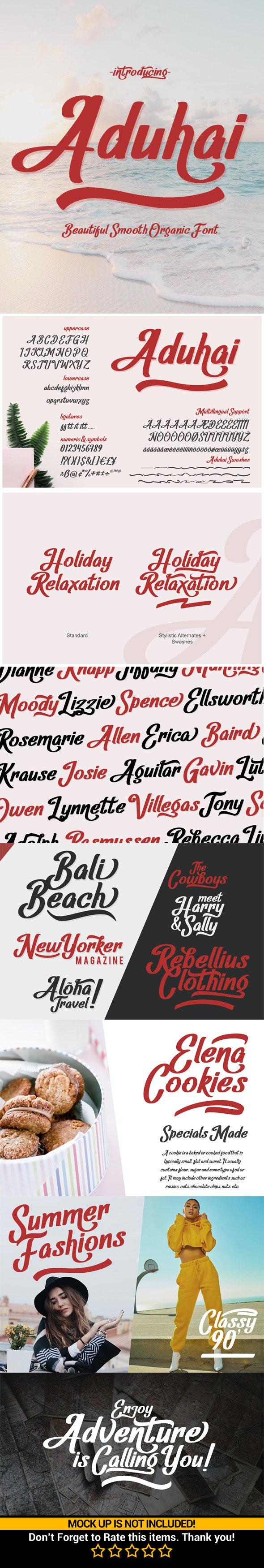 Aduhai - Fancy Fonts