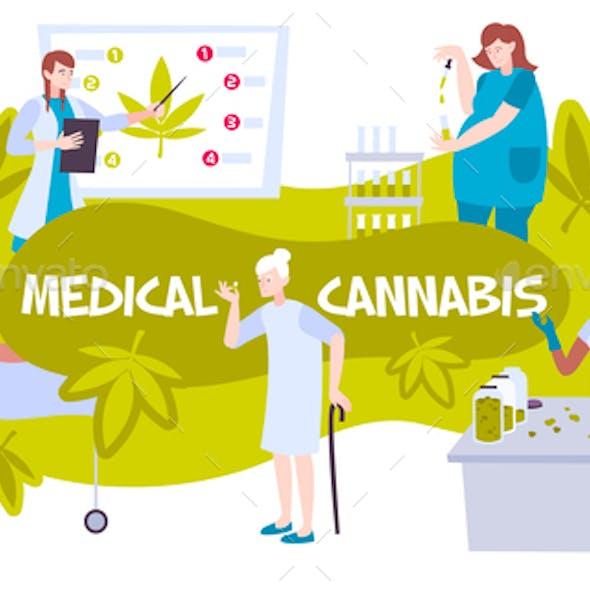 Cannabis Medicine Composition