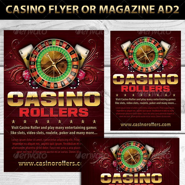 Casino Magazine Ads or Flyers 2