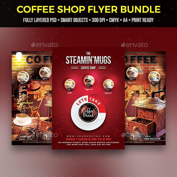 Coffee Flyer Bundle