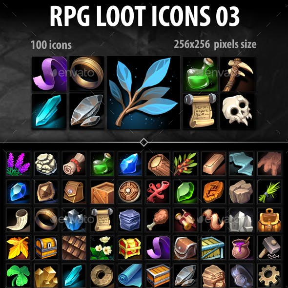 RPG Loot Icons 03