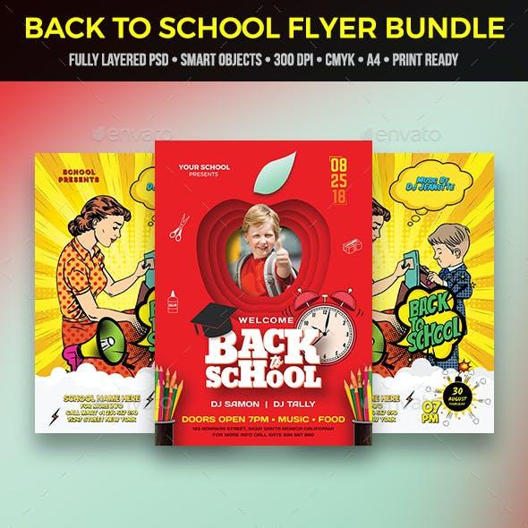 Back To School Flyer Bundle