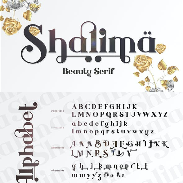 Shalima - Beauty Serif