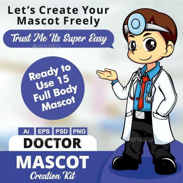 Doctor Mascot Creation Kit