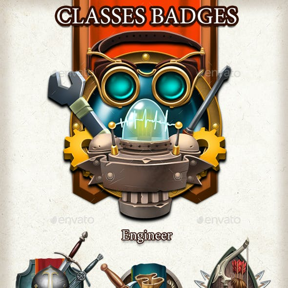 Classes Badges