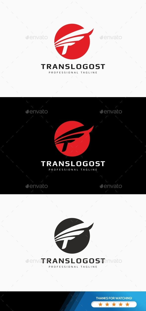 Translogost - T Letter Logo Template - Logo Templates