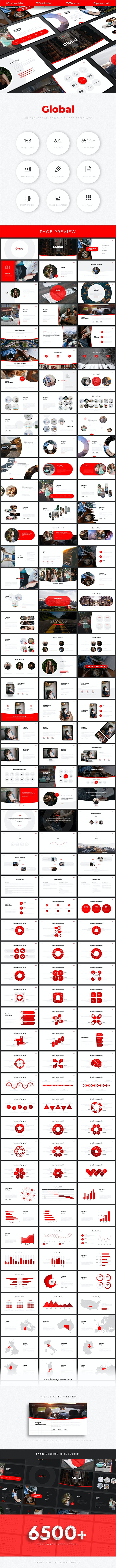 Global Multipurpose Google Slides Template - Google Slides Presentation Templates