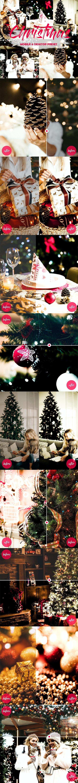 Lightroom Mobile and Desktop Presets Christmas - Lightroom Presets Add-ons