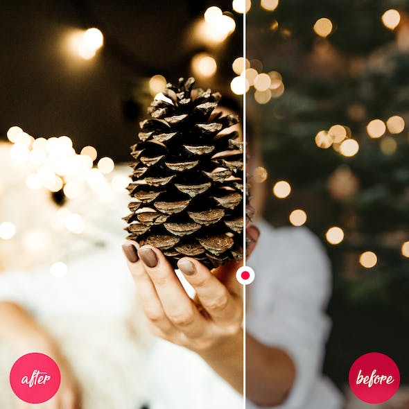 Lightroom Mobile and Desktop Presets Christmas