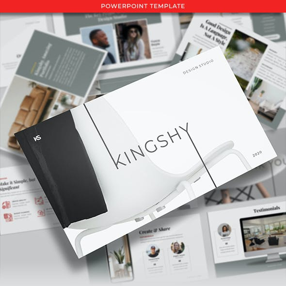 Kingshy - Creative Business Presentations Template