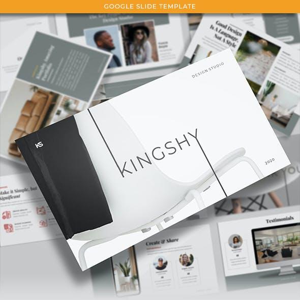 Kingshy - Creative Business Presentations Template