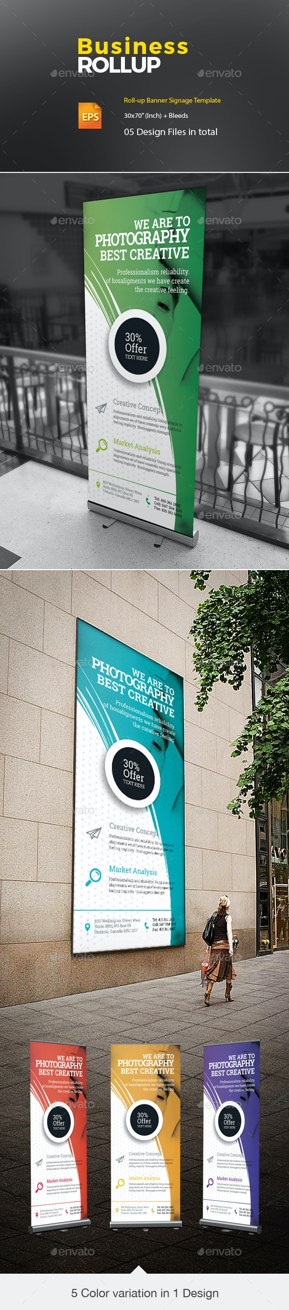 Rollup - Signage Print Templates