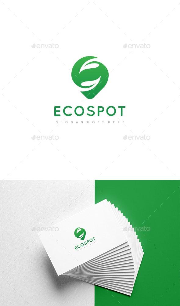 Ecology Spot Logo Design - Nature Logo Templates